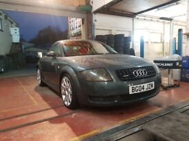 AUDI TT 1.8 T 180 BHP. FSH RED HEATED LEATHER BARGAIN