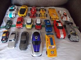 Job lot of scalextric cars £130 no offers what you see is what you buy