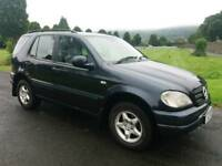 2001 Mercedes Ml 270 Cdi automatic. Mot May. £1100 ono.