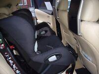 Two Maxi-Cosi Axiss swivel child seats