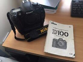 Nikon D100 + Battery Pack