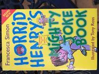 Horrid henrys mighty joke book