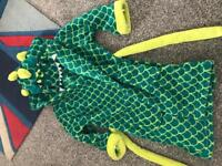 Gorgeous boys dinosaur dressing gown M&S age 4-5