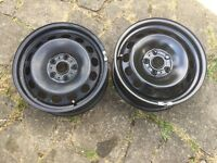 "16"" VW, Skoda, Audi, Seat steel wheels"