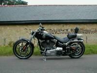2014 Harley-Davidson Softail FXSB 1690 Breakout Chopper Cruiser Black 1850 Milles