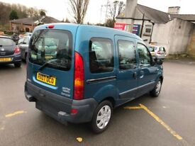 Renault Kangoo 1.2 16v 75 Authentique 5dr WHEELCHAIR / MOBILITY ACCESS, LOW MILEAGE, LONG MOT