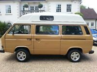 We have a number of VW T25 's nearing completion and for sale . Also a number of other vans