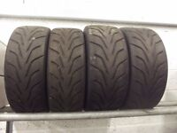 4 OFF TOYO PROXES R888 TYRES 2 OFF 205/60 R 13 2 OFF 185/60 R 13 Also 2 FORD RS ALLOYS 6 X 13