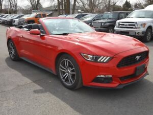 2017 Ford Mustang PREMIUM CONVERTIBLE ECOBOOST CUIR MAGS
