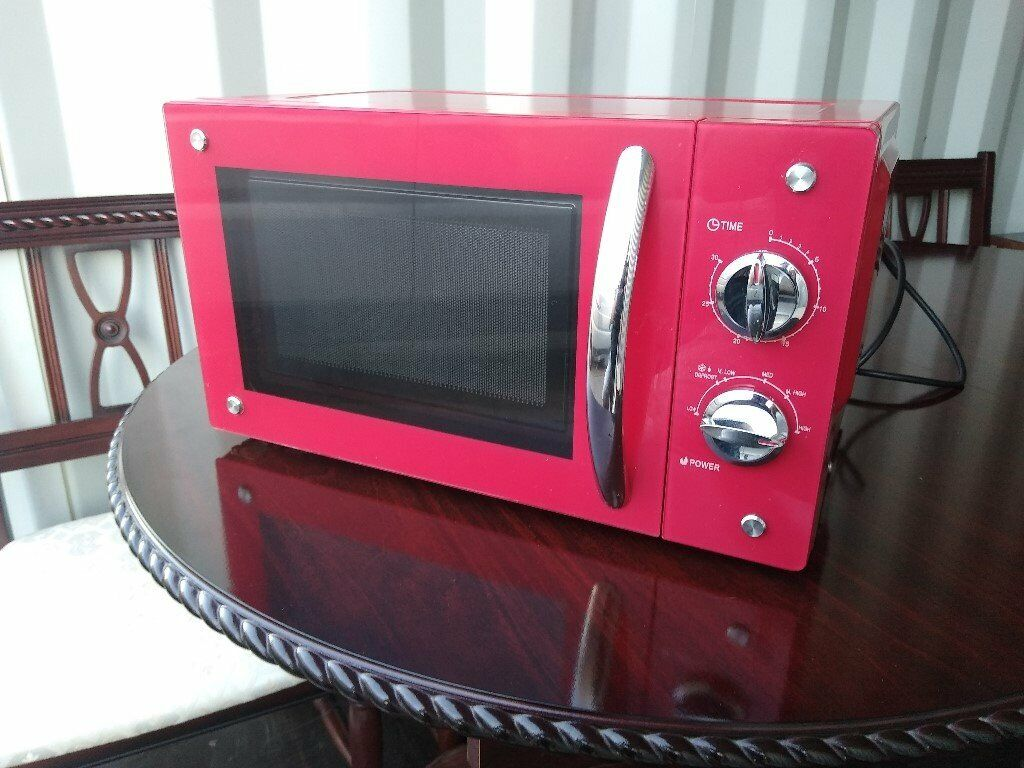 Gorgeous Red Colour Microwave In Bournemouth Dorset