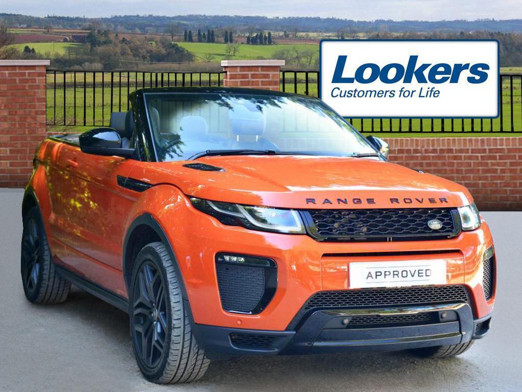 Land Rover Range Rover Evoque TD4 HSE DYNAMIC (orange) 2016-06-30