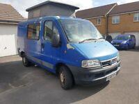 Fiat, DUCATO, camper Van project, 2006/2007 12 month mot