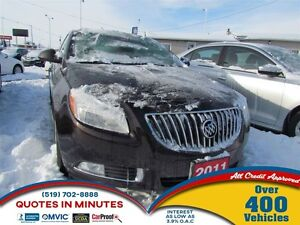 2011 Buick Regal CXL Turbo | LEATHER | ONE OWNER | HEATED SEATS