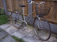 Ladies Retro BSA/Raleigh town bike. Lovely condition. Near Cambridge. Delivery possible