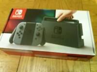 Brand new Nintendo Switch Grey