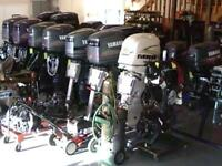 SMALL OUTBOARDS WANTED WORKING OR NOT boat