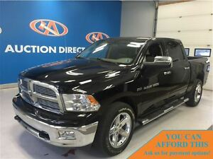 2012 Ram 1500 SLT 4x4 CREW! CHROME RIMS!