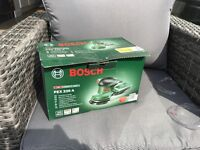 Bosch orbit sander PEX 220 A used once with box and instructions