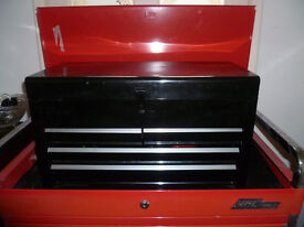 New toolbox with tools
