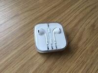 Genuine Apple headphones with Jack