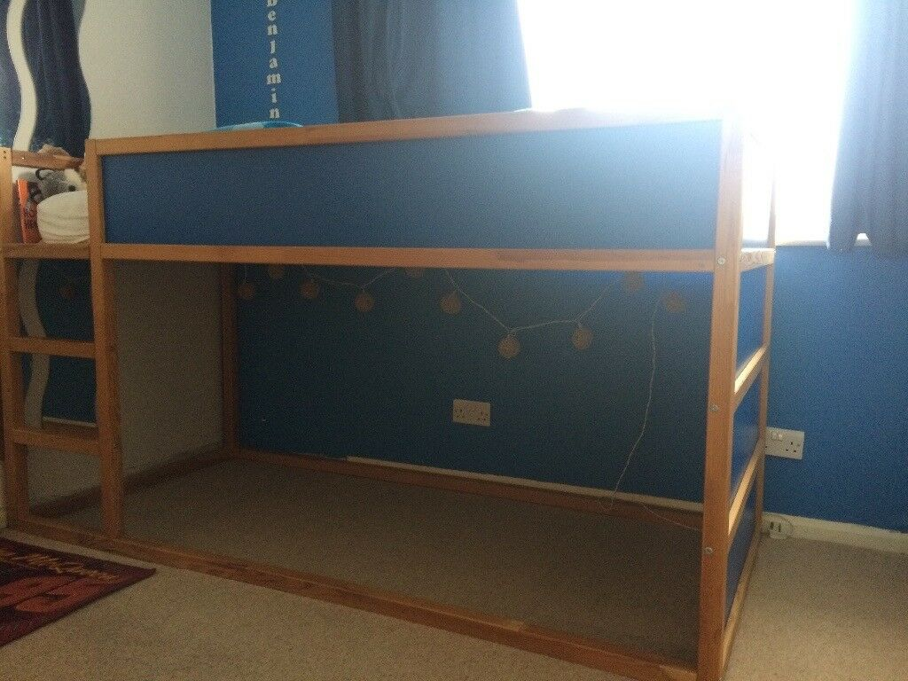 Reversible ikea cabin bed