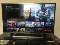 Panasonic 40 inch smart tv for sale