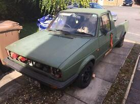 Vw caddy mk1 project