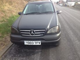 Mercedes ML350 Black matt