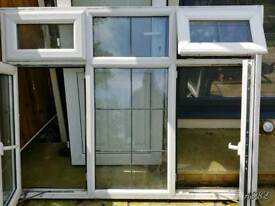 UVPC double glazing with georgian bars - good condition