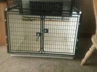 Lintran dog cage for porsche 4x4
