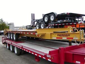 2017 CAM Superline 8x25 10 Ton Equipment Trailer Order Yours Tod