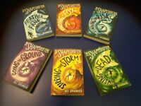 The Shapeshifter Collection by Ali Sparkes. 6 books. VGC. Age 9+