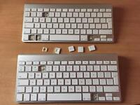 2 Apple Keyboard for Repair and Spare