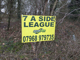 advertising board putter upper! easy to do!