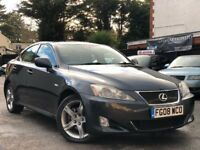 Lexus IS 220d 2.2 TD Full Service History 2 Owners 1 Year MOT Great Condition 3 Months Warranty