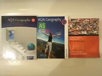 A-Level Geography Textbook Bundle- best for AQA students