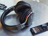 Sony MDR-1ABT High-Resolution Audio Bluetooth NFC Wireless Headphones - Black - RRP: £299.99 GBP