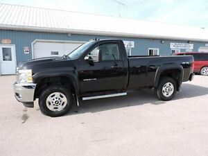 2011 Chevrolet SILVERADO 2500HD LT,REG CAB,4X4,2500,WELL OILED 1