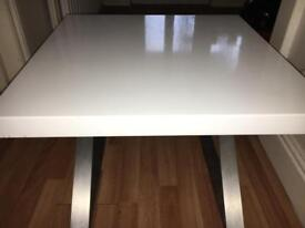 2 White Bed Side Tables