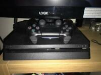 PS4 1TB slim console plus games