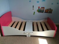 Toddler Bed- hardly used