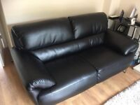Lovely Italian Leather Sofa 2 Seater. in Great Condition.