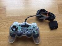 PlayStation clear controller, ps1 ps2