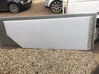 2 white polycarb Roofing Sheets