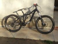Kona Entourage Downhill Mountain Bike