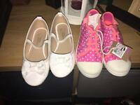 Girls size 10 shoes