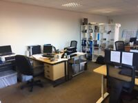 2 Desk Spaces Available In Shared Office