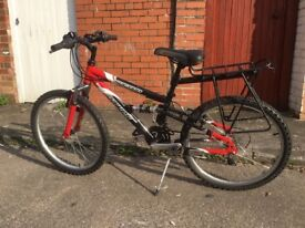 "Dawes ructions aluminium framed bicycle 24"" wheel."