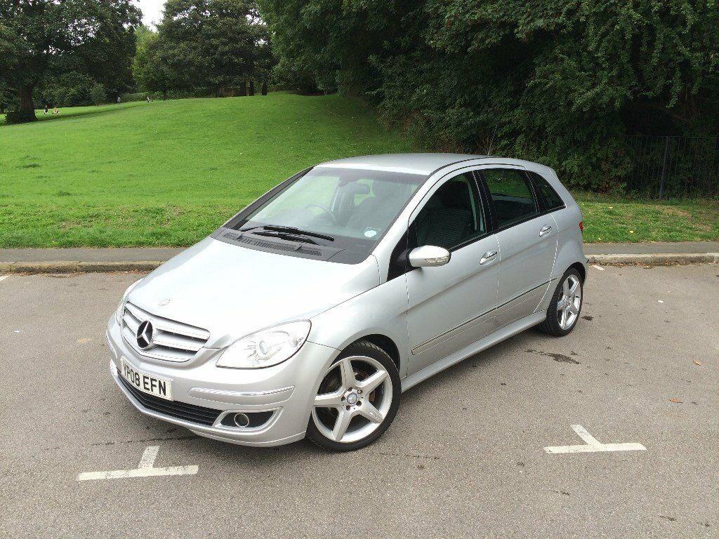 2008 mercedes b200 cdi diesel w245 7 speed auto cvt 18 inch amg wheels super nice condition in. Black Bedroom Furniture Sets. Home Design Ideas