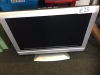 "19"" Television / DVD Player (with Remote Control) £25.00"